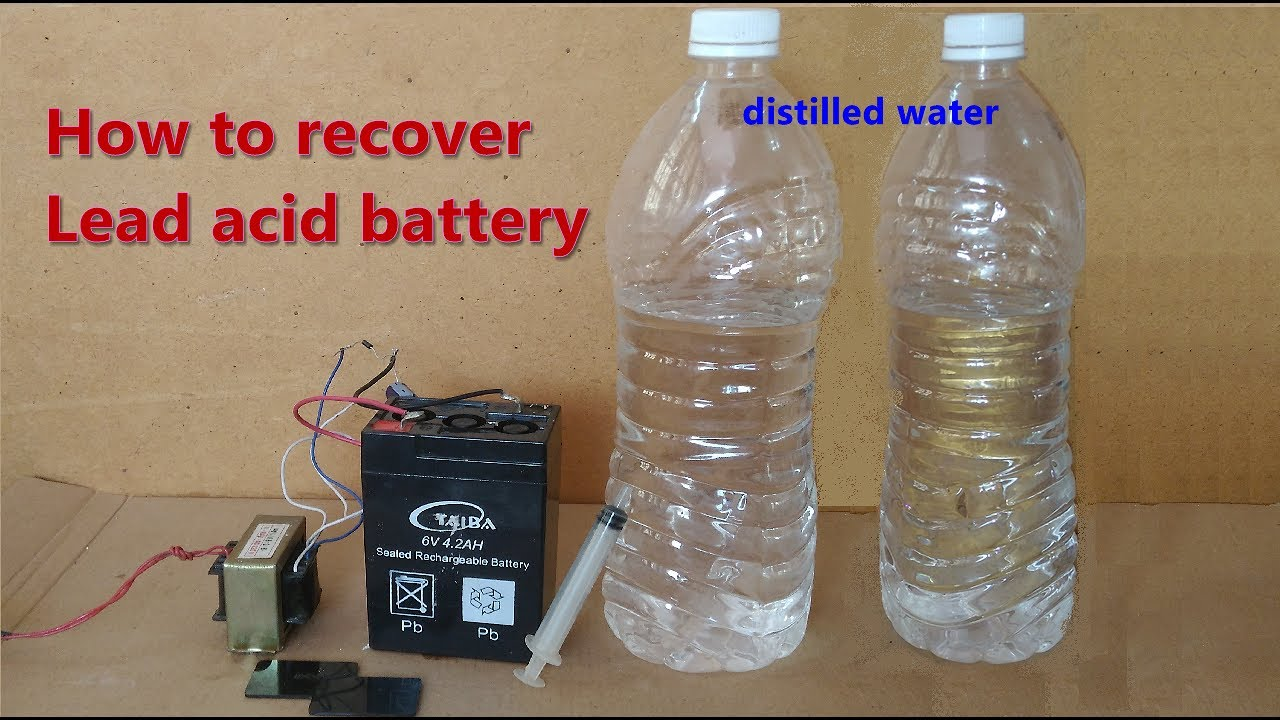 How To Recondition Lead-Acid Batteries